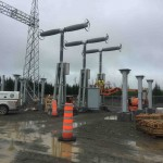 Substation: Installation of GE breakers