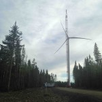 First erected wind turbine (MM92)!